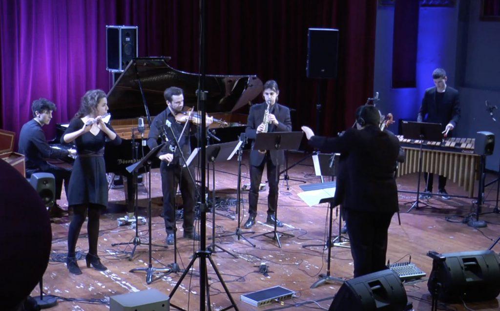 Concert des élèves de la classe de composition et informatique musicale de Christophe de Coudenhove