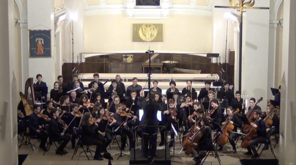 Orchestre qui joue Fusion de Christophe de Coudenhove