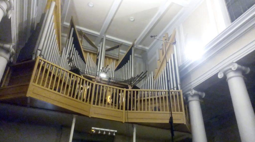 Orgue, trompette et trombones