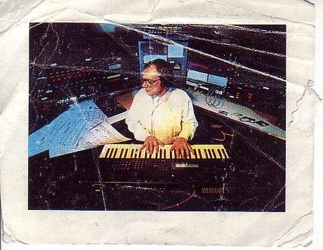 Christophe de Coudenhove dans le Studio Yamaha de l'Ircam