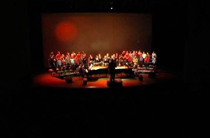 Plateau du concert de Un hommage a Salvador Dali de Christophe de Coudenhove