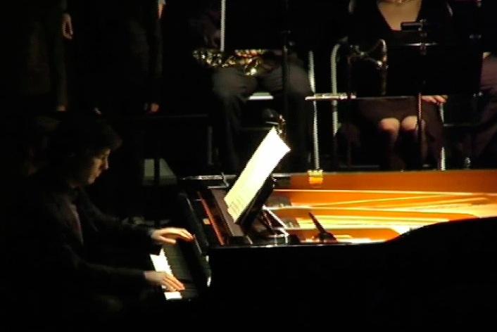 Pascal Jourdan au piano