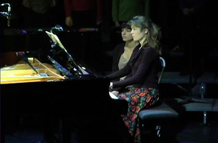 Sophie Grattard au piano